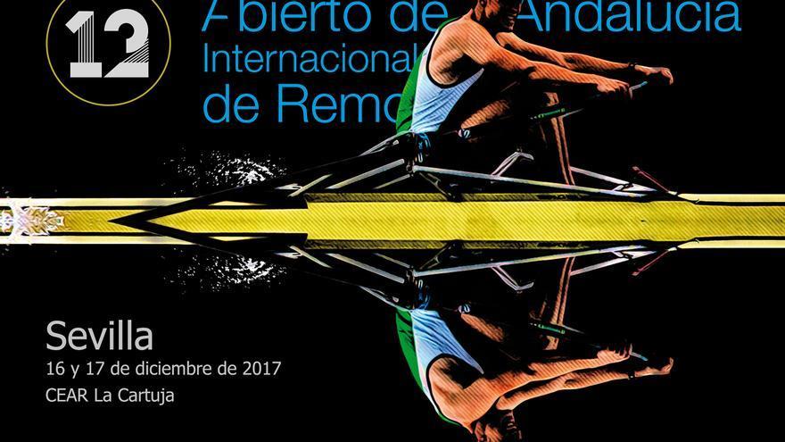 Cartel del 12ª Abierto Internacional de Andalucía de remo
