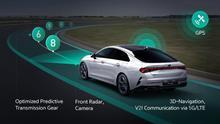 El sistema de Hyundai y Kia conecta una serie de tecnologías de la información y la comunicación al cambio de velocidades.