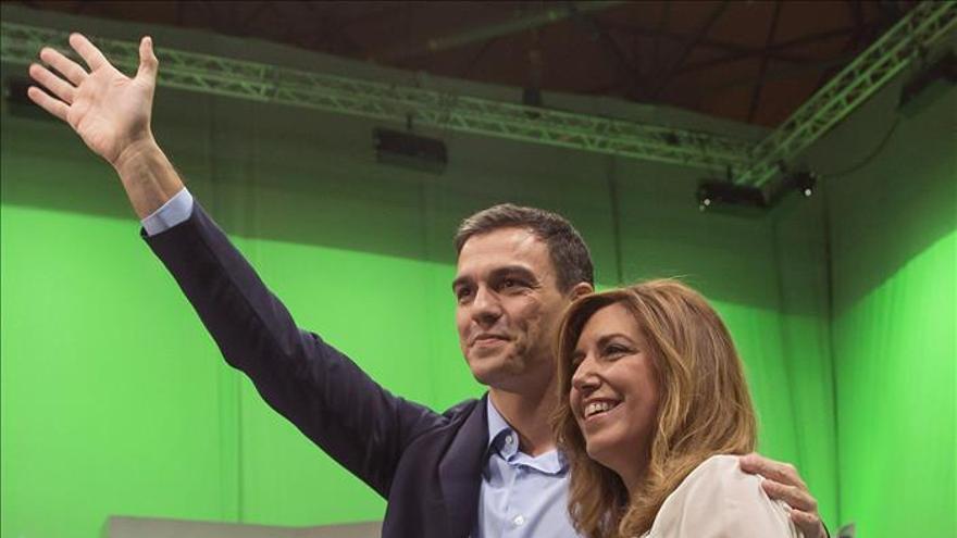 Díaz defiende la honradez de Chaves y Griñán y dice que se esclarecerá la verdad