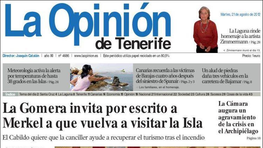 De las portadas del día (21/08/2012) #5