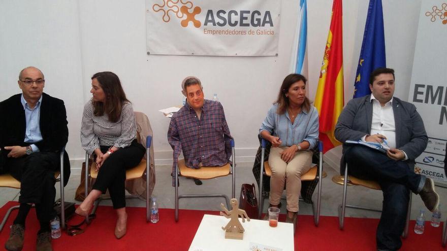 Debate de candidatos municipales organizado por Ascega en A Coruña