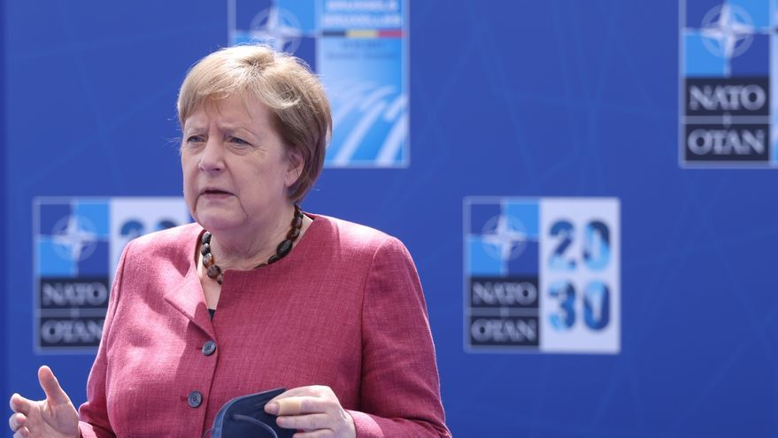 """Merkel cita los """"desafíos"""" de Rusia y China entre los principales de la OTAN"""