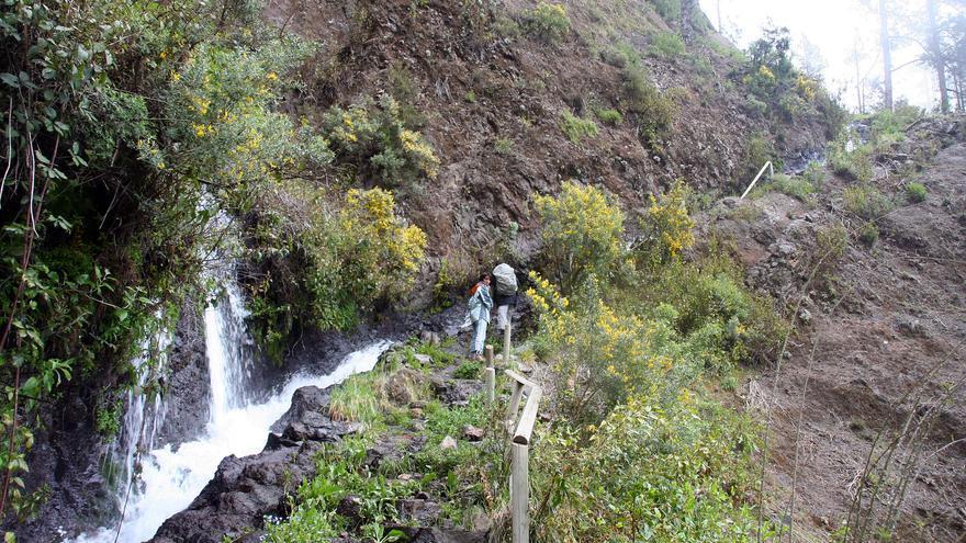 Un tramo del sendero de Marcos y Cordero.