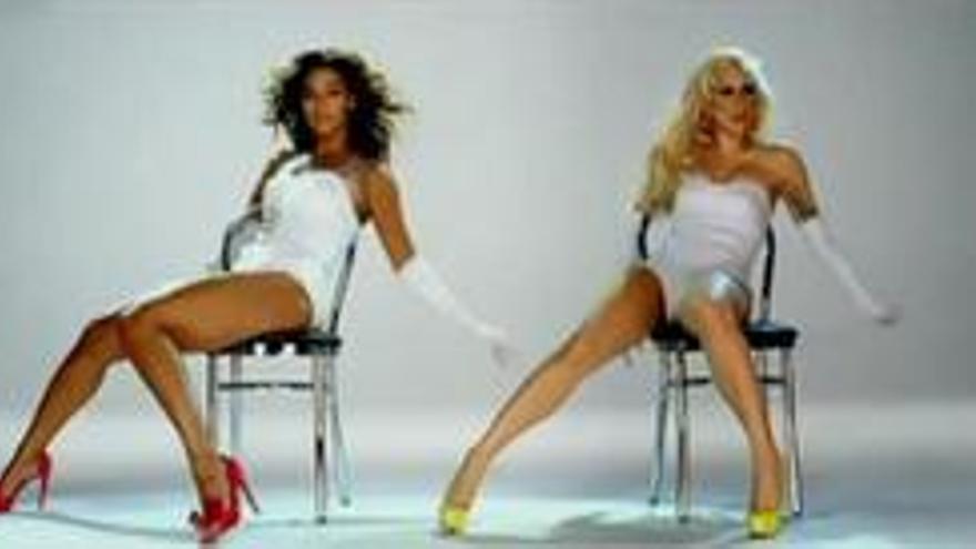 Captura del vídeo de Beyoncé 'Video Phone' con Lady Gaga