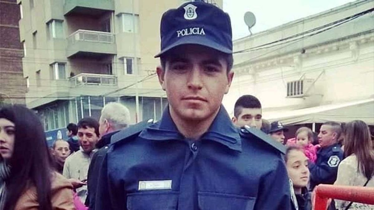 Matías Ezequiel Martínez, el policía bonaerense acusado por el femicidio de Úrsula Bahillo.