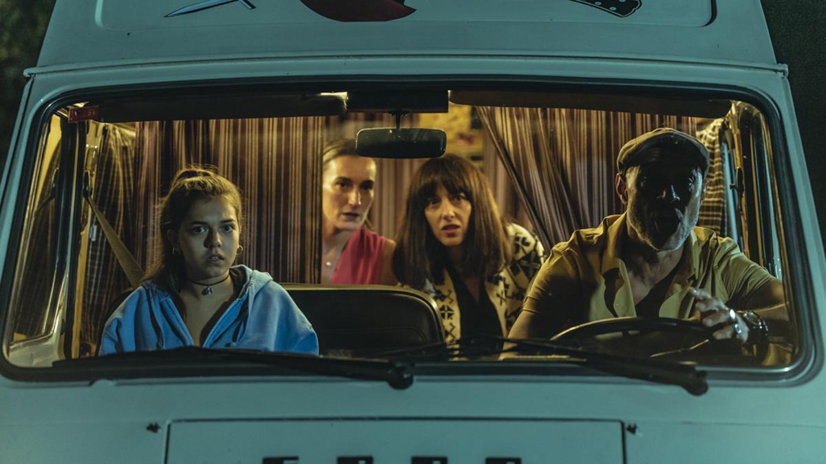 Imagen de la película 'La pasajera'