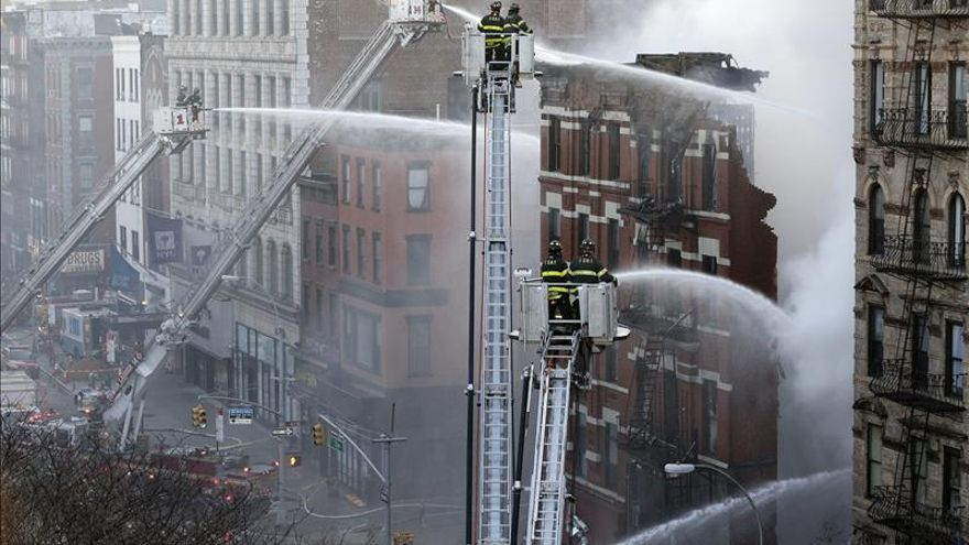 Encuentran un cadáver en el lugar de la explosión del jueves en Nueva York