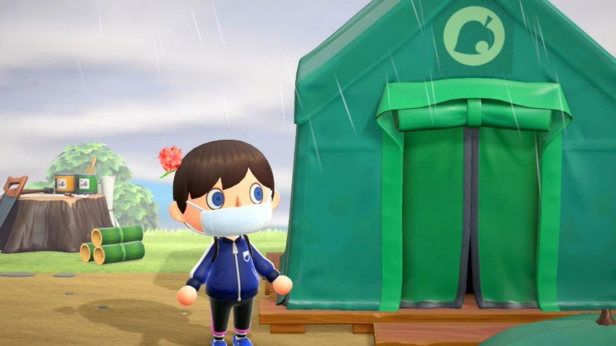 Captura de Animal Crossing: New Horizons