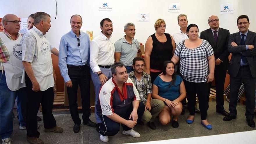 Presentación de la ONG en su sede del barrio de San Andrés