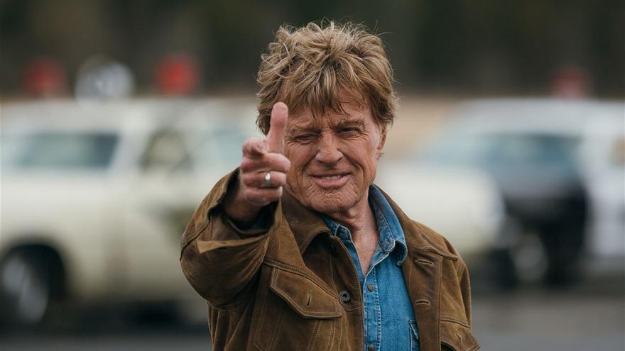 Robert Redford como Forrest Tucker, su último papel.