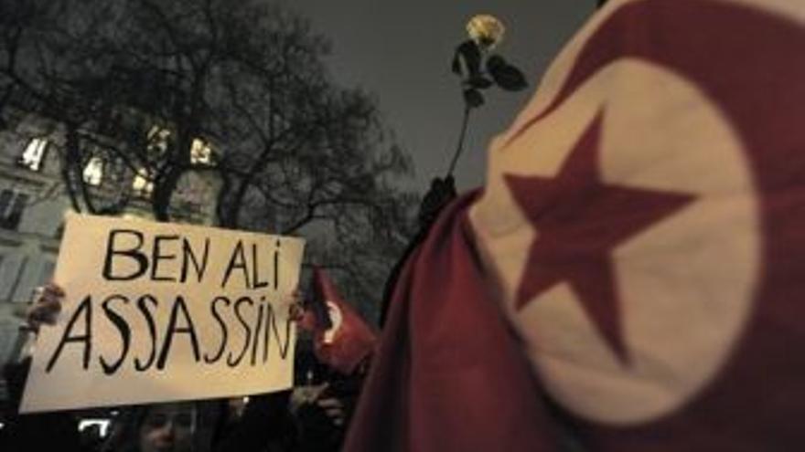 Protestas en Túnez. (EUROPA PRESS)
