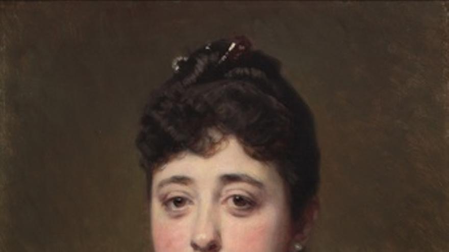 Retrato de la Emperatriz Eugenia de Montijo, de la Fundación Casa de Alba