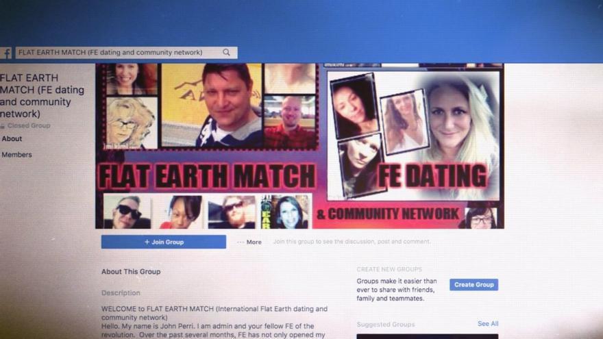 Grupo de Facebook para ligar entre terraplanistas