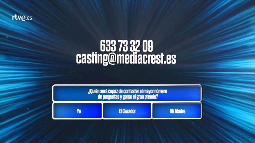TVE pone en marcha 'El Cazador', su nuevo concurso de preguntas y respuestas