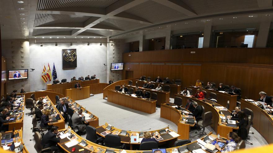 Imagen de archivo del penúltimo Pleno de las Cortes, celebrado el 13 de marzo. Foto: Cortes de Aragón