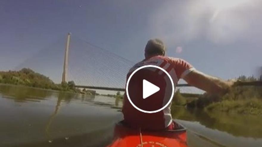 Imagen del vídeo de Rodrigo Cubelos