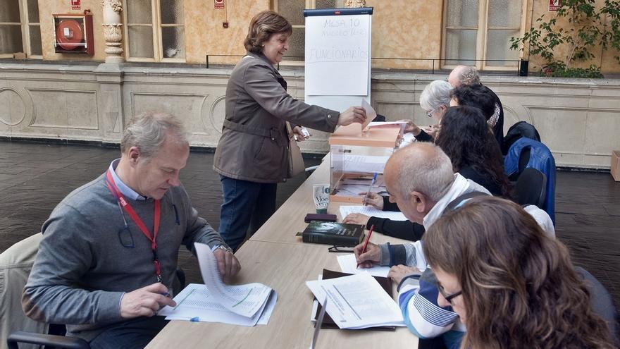 Un total de 24.390 empleados de la Administración foral participan en las elecciones sindicales