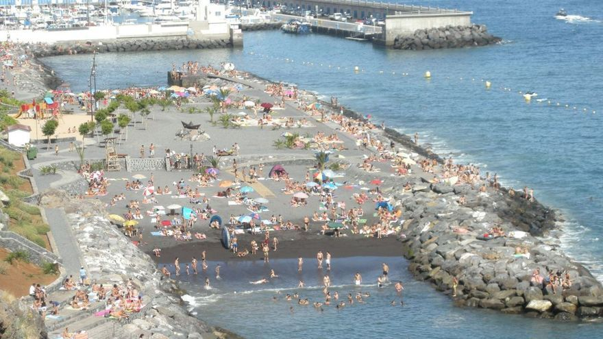 Imagen de archivo de parte del litoral de Radazul, en El Rosario