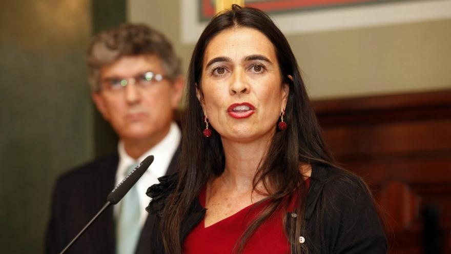 María del Carmen Hernández Bento, delegada del Gobierno en Canarias.