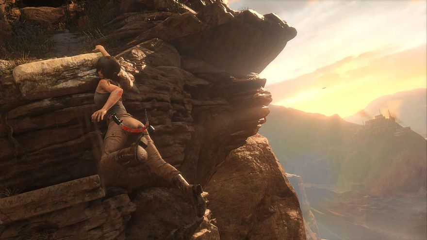 Rise of the Tomb Raider Gamescom
