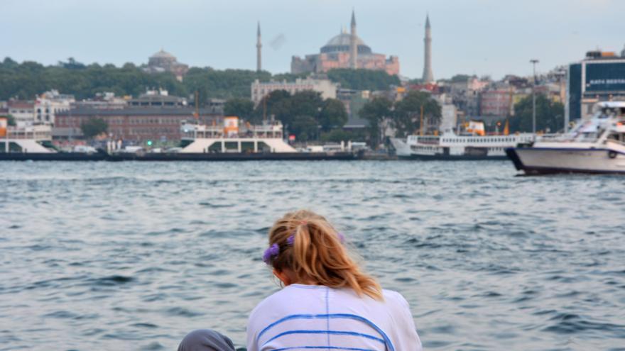 Vista de Santa Sofía, Estambul / Silvia Nortes