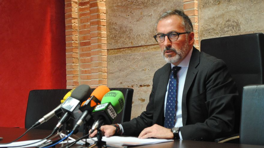 El portavoz del Ayuntamiento de Valdepeñas, Francisco Delgado