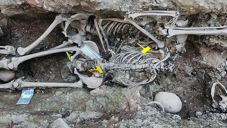 En la última campaña se han exhumado los restos de siete personas