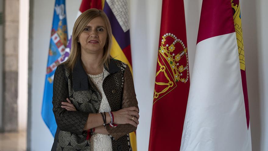 La secretaria de Organización del PSOE, Noelia Cobo. | JOAQUÍN GÓMEZ SASTRE