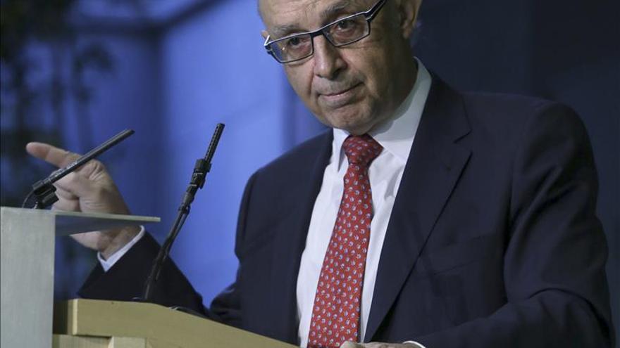 Cristóbal Montoro, premio Tintero 2014 y Manuel Pizarro, premio Secante