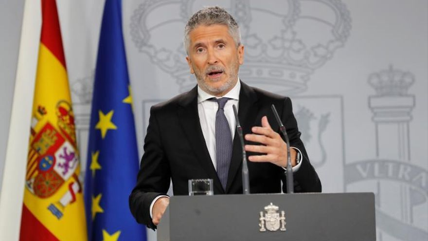 """Marlaska garantiza que no habrá """"impunidad"""" con los violentos en Cataluña"""
