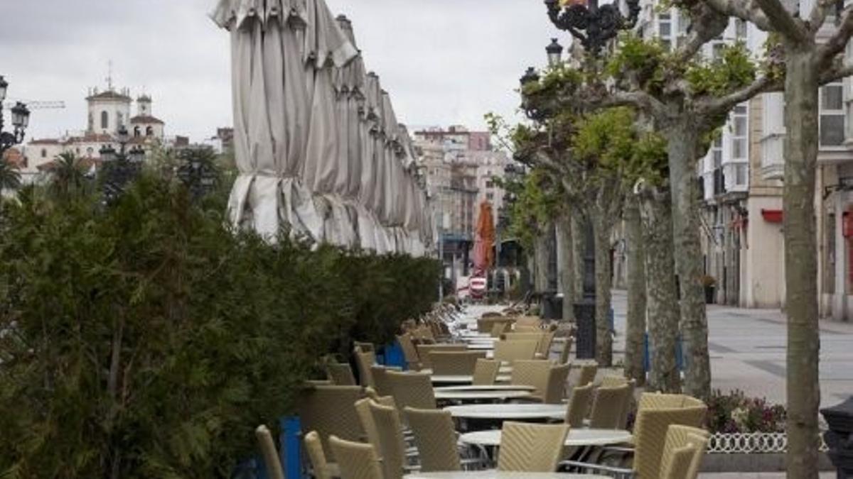 Terrazas de hostelería en Santander