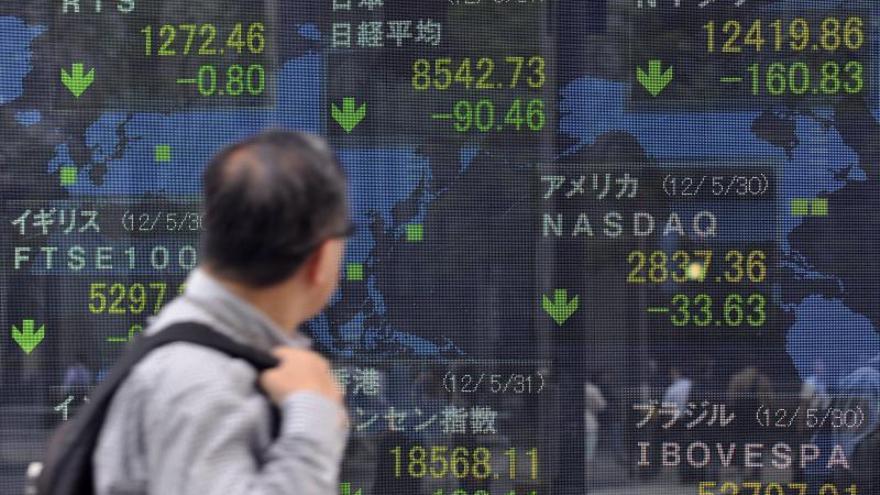 Hong Kong gana un 0,08 por ciento a media sesión