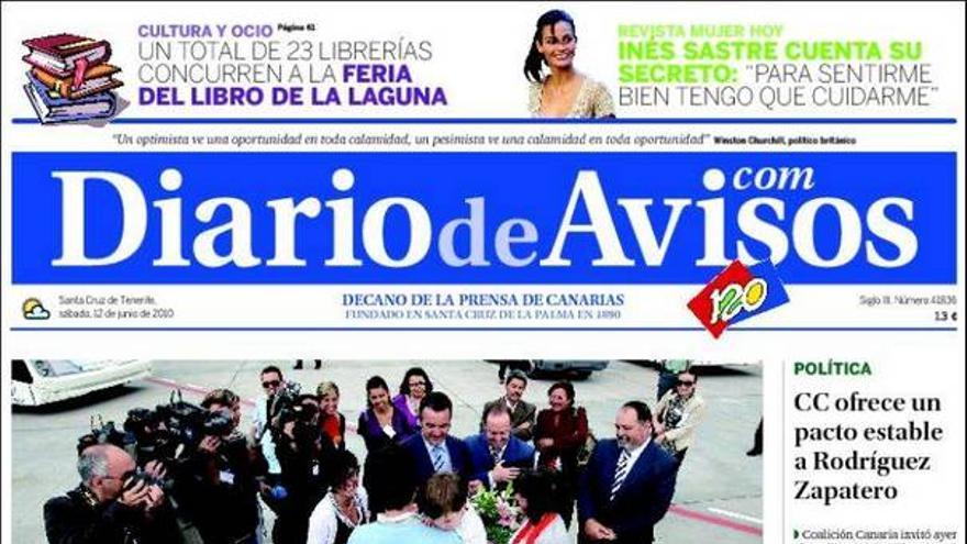 De las portadas del día (12/06/2010) #3