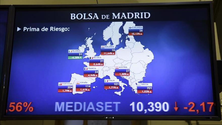 España capta 2.340 millones y repite interés negativo en letras a corto plazo