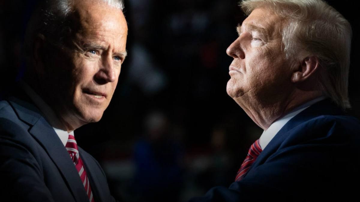 Biden frente a Trump
