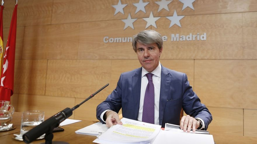 Ángel Garrido, presidente del Canal de Isabel II.