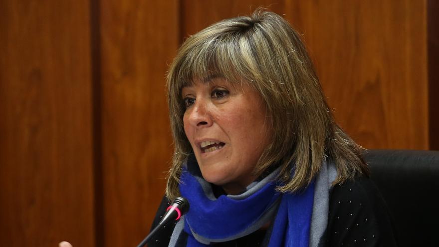 Nuria Marín, alcaldesa de L'Hospitalet de Llobregat y 'número 2' del PSC.