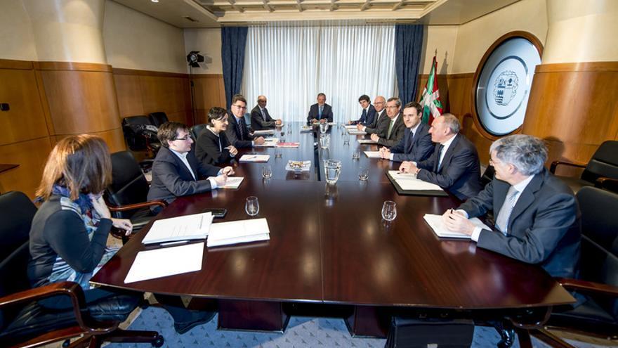 Reunión del Consejo Vasco de Finanzas.