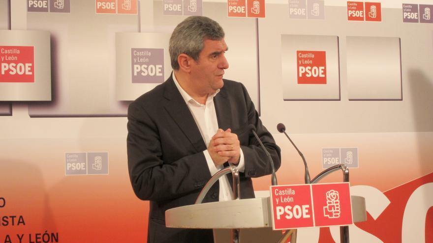 """PSOE aboga por """"no perder tiempo"""" con cuestión de Treviño (Burgos) porque su separación de CyL """"no tiene cabida legal"""""""