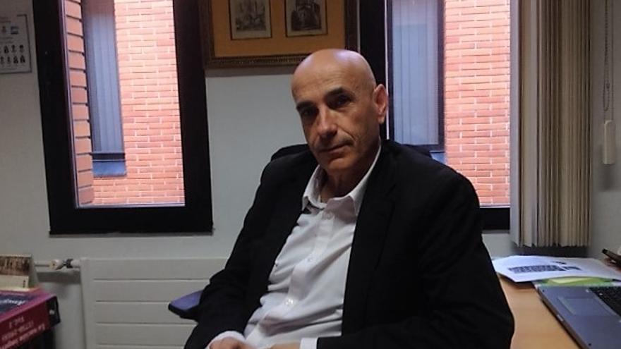 El profesor de Historia, Txema Portillo.
