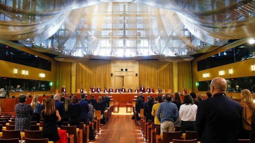 Una vista en el Tribunal de Justicia de la Unión Europea (TJUE).