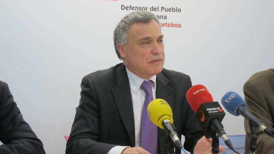 """Enériz cree que """"ya toca"""" su relevo como Defensor del Pueblo de Navarra y dice que """"nota ciertos síntomas de cansancio"""""""