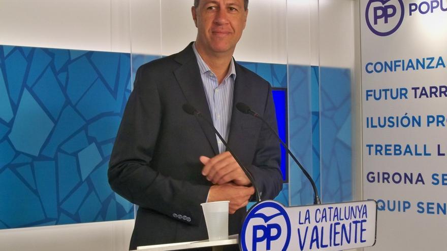 """Albiol dice que los dirigentes independentistas deberán pagar el referéndum """"de su bolsillo"""""""