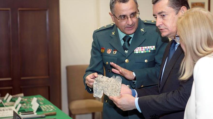 Seis detenidos por el expolio de casi 750 piezas arqueológicas de gran valor
