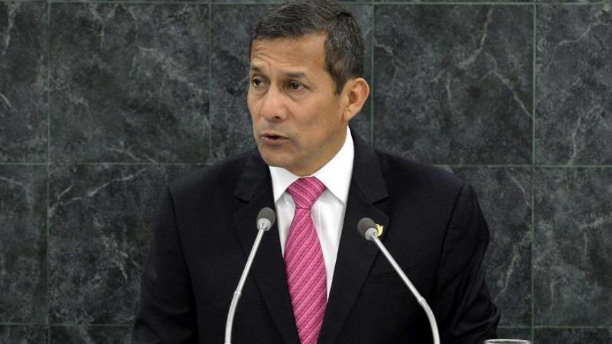 Humala convoca al Congreso para explicar el viernes el fallo de La Haya