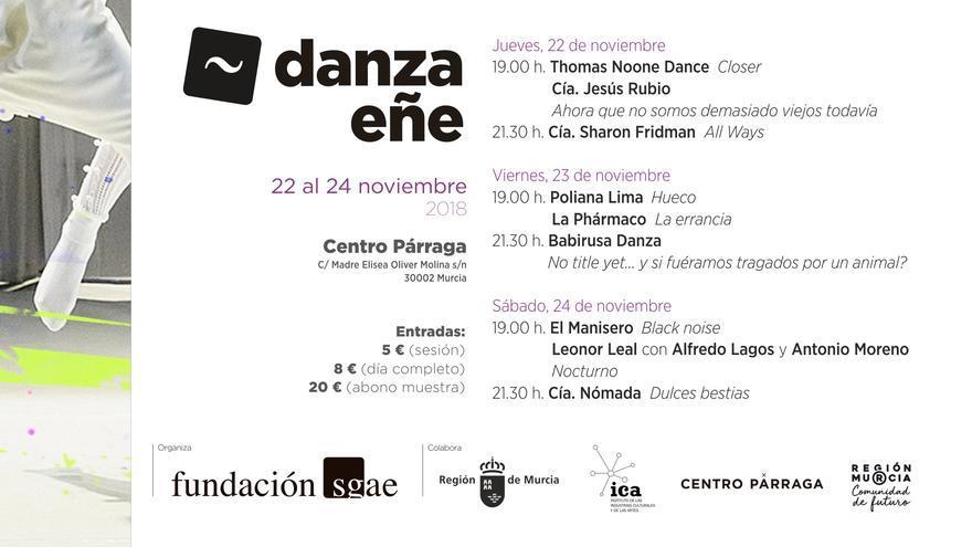 La II edición de 'DanzaEñe' se presenta en el Centro Párraga
