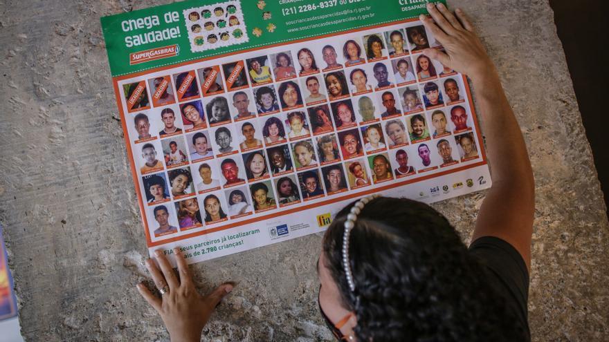 La tercera parte de los desaparecidos en Brasil son menores adolescentes