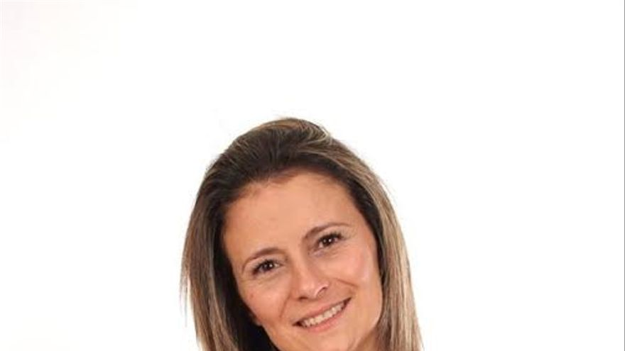 Vanesa Catalán, candidata de Izquierda Unida-Unidad Popular al Senado por La Palma.