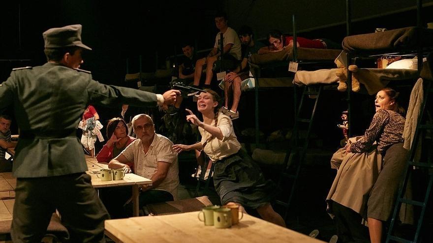 El 'Último tren a Treblinka' llega al Palacio de Festivales y acercará al público a un orfanato del nazismo