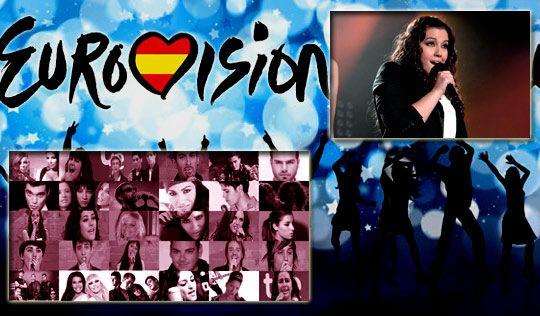 Los 30 elegidos de TVE para Eurovisión